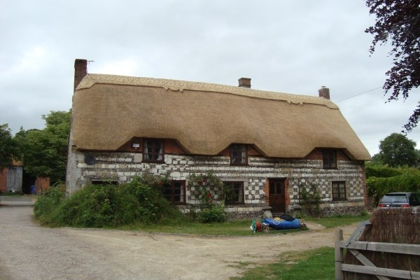 Tilshead - after thatching