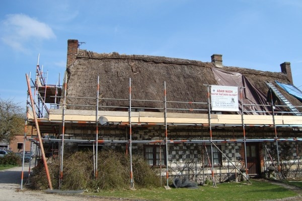 Tilshead - before thatching
